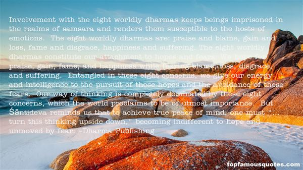 Quotes About Dharmas