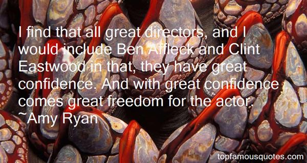 Quotes About Directors