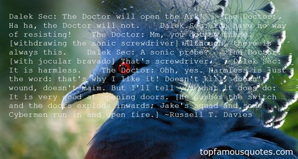 Quotes About Doc