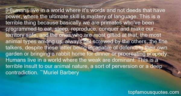 Quotes About Dominant