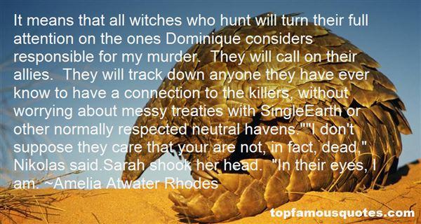 Quotes About Dominique