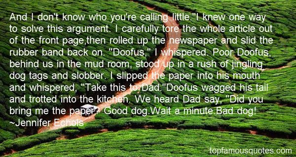 Quotes About Doofus