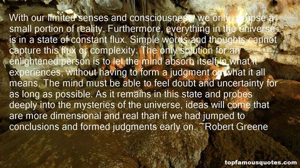 Quotes About Doubt And Certainty