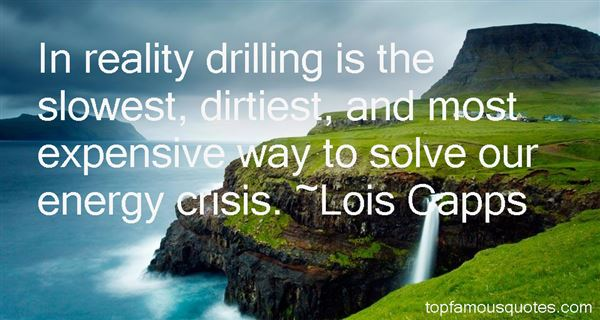 Quotes About Drilling