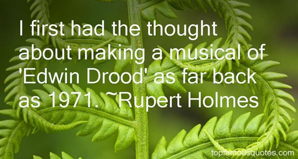 Quotes About Drood