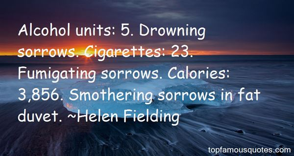 Quotes About Drowning In Sorrow