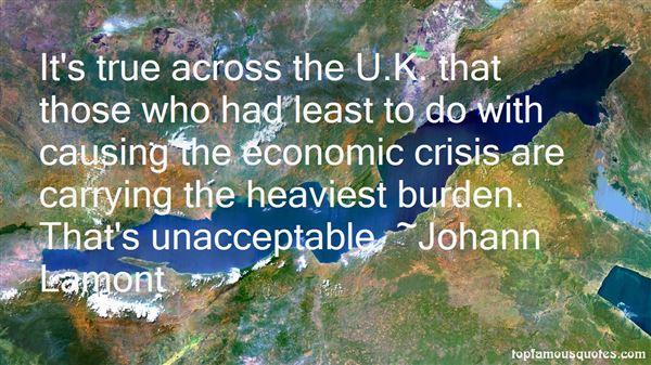 Quotes About Economic Crisis