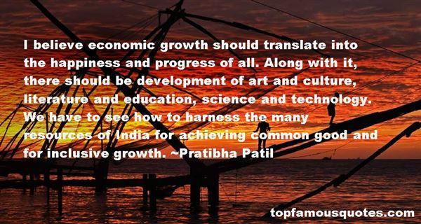 Quotes About Economic Development