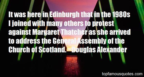 Quotes About Edinburgh Scotland
