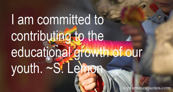 Quotes About Educational Growth