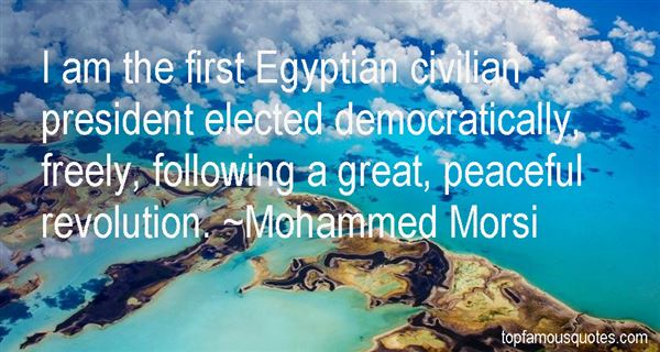 Quotes About Egyptian Revolution