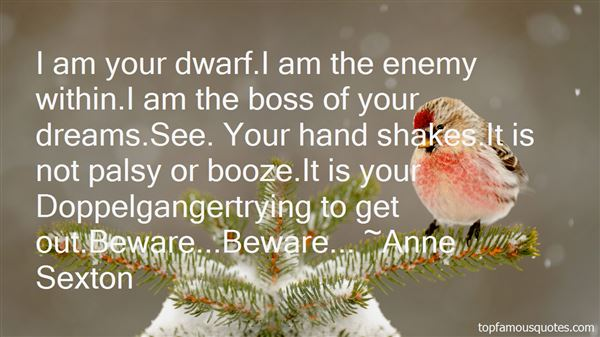 Quotes About Enemy Within