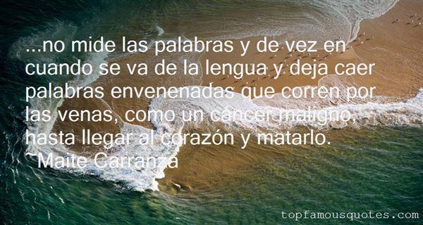 Quotes About Envenenadas