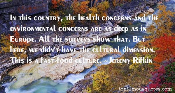 Quotes About Environmental Concerns