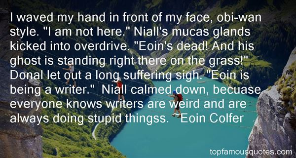 Quotes About Eoin
