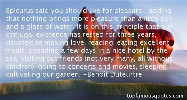 Quotes About Epicurus Pleasure