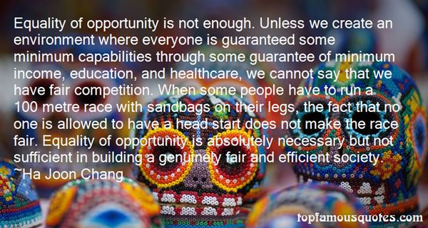Quotes About Equal Opportunity In Education