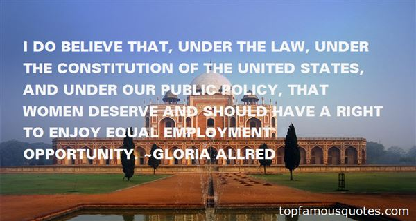 Quotes About Equal Opportunity