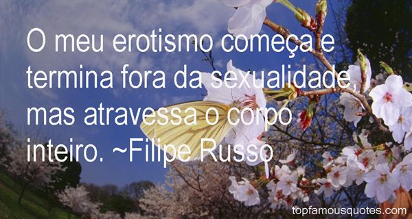 Quotes About Erotism