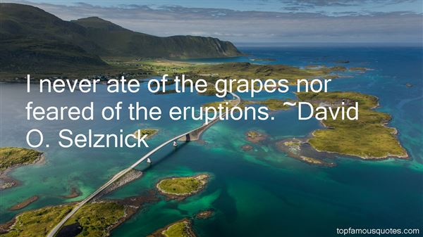 Quotes About Eruptions