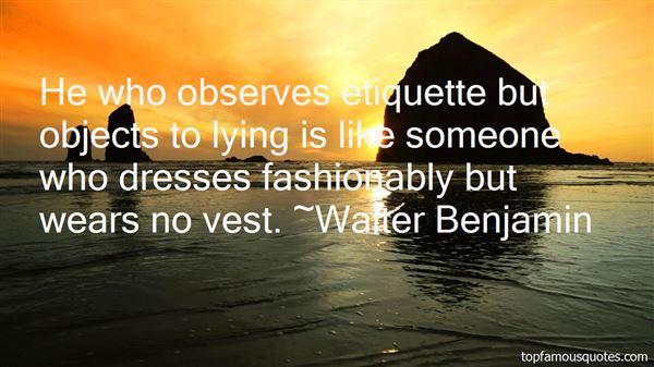 Quotes About Etiquette