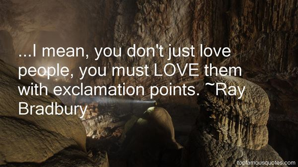 Quotes About Exclamation Points