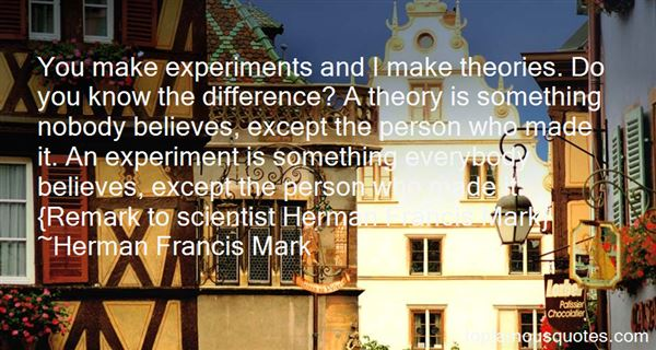 Quotes About Experiments