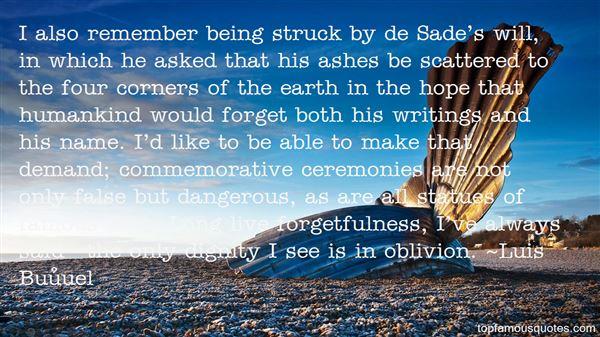 Quotes About Famous Oblivion