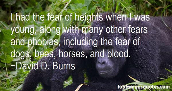 Quotes About Fears And Phobias