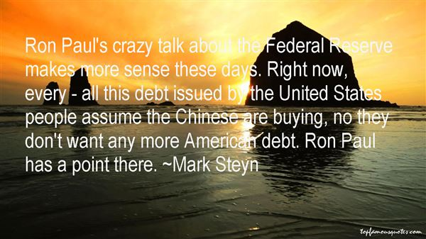 Quotes About Federal Debt