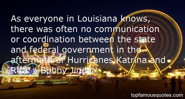 Quotes About Federal Hurricane Katrina