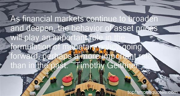Quotes About Financial Markets