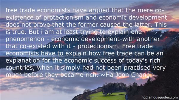Quotes About Free Trade And Protectionism