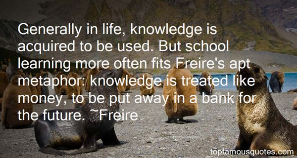 Quotes About Freire