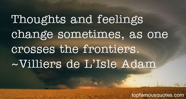 Quotes About Frontiers