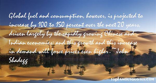 Quotes About Fuel Consumption