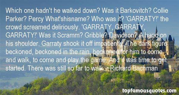 Quotes About Garraty