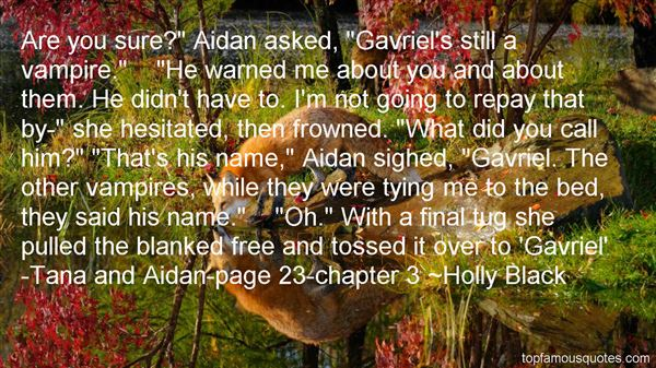 Quotes About Gavriel
