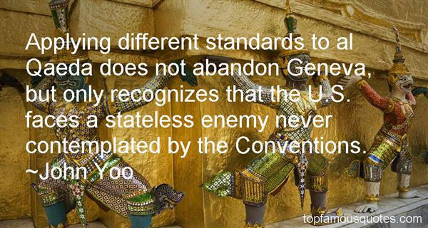 Quotes About Geneva Convention