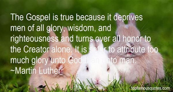 Quotes About Glory And Honor