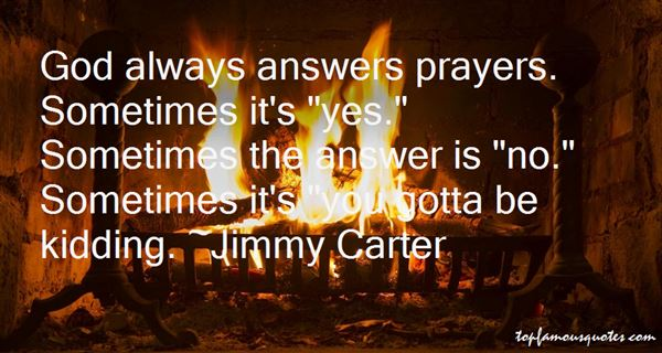 God Answers Prayers Quotes: Best 10 Famous Quotes About