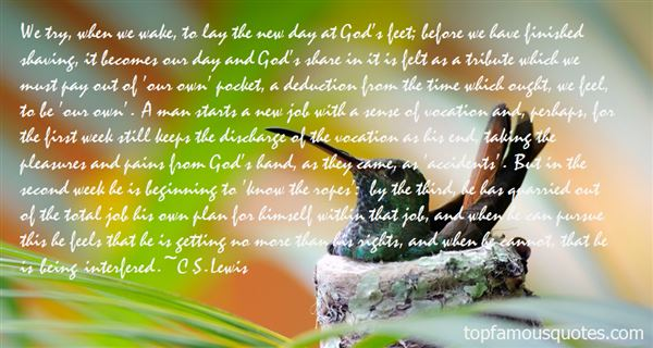 Quotes About God Having A Plan