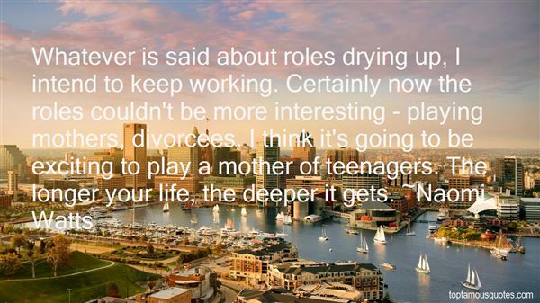 Quotes About Going Deeper