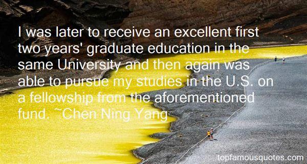 Quotes About Graduate Studies