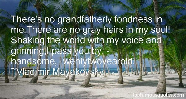 Quotes About Grandfatherly