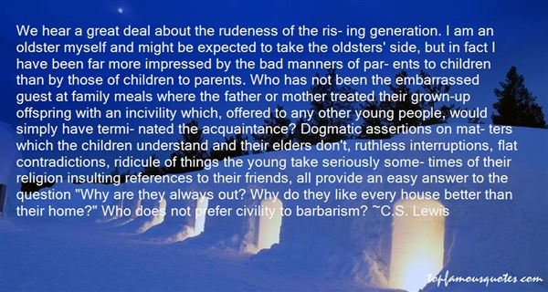 Quotes About Great Rudeness