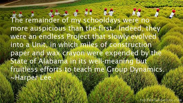 Quotes About Group Dynamics