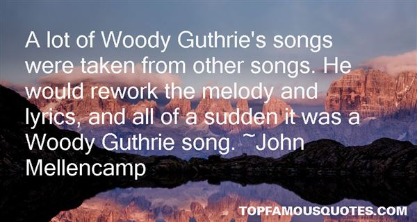 Quotes About Guthrie