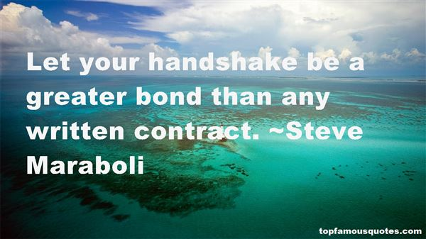 Quotes About Handshake