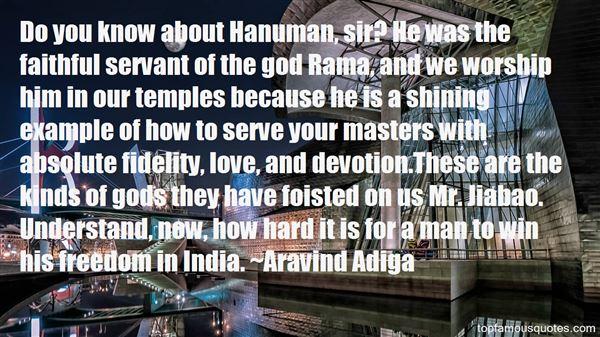 Quotes About Hanuman Ji